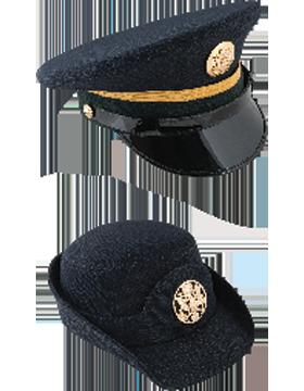Dress Blue Service Caps