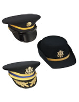 Dress Blue Service Caps