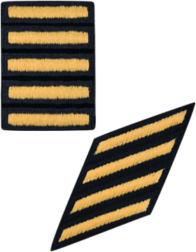 Dress Blue Service Stripes