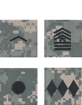 ROTC ACU Cloth Rank