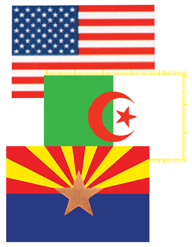 U.S. - State - Foreign Flags