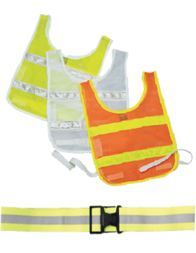 Reflective Vest and Belts