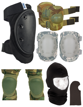 Hoods and Knee and Elbow Pads