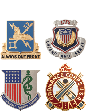 Unit and Regimental Crests